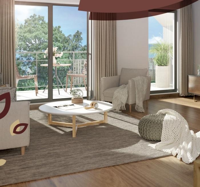 Appartements neufs Pacé référence 5256 : aperçu n°1