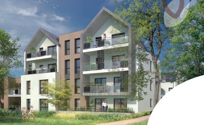 Appartements neufs Pacé référence 5256 : aperçu n°2