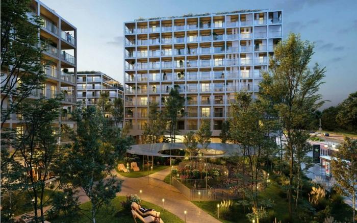 Appartements neufs Francisco-Ferrer - Vern - Landry - Poterie référence 5455 : aperçu n°2