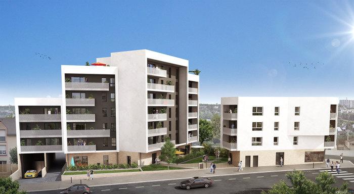 Appartements neufs Nord Saint-Martin référence 5454 : aperçu n°0