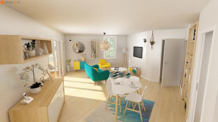 Appartements neufs Nord Saint-Martin référence 5454 : aperçu n°1