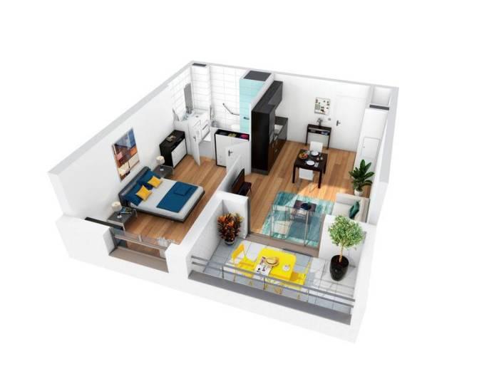 Appartements neufs Gévezé référence 5456 : aperçu n°1