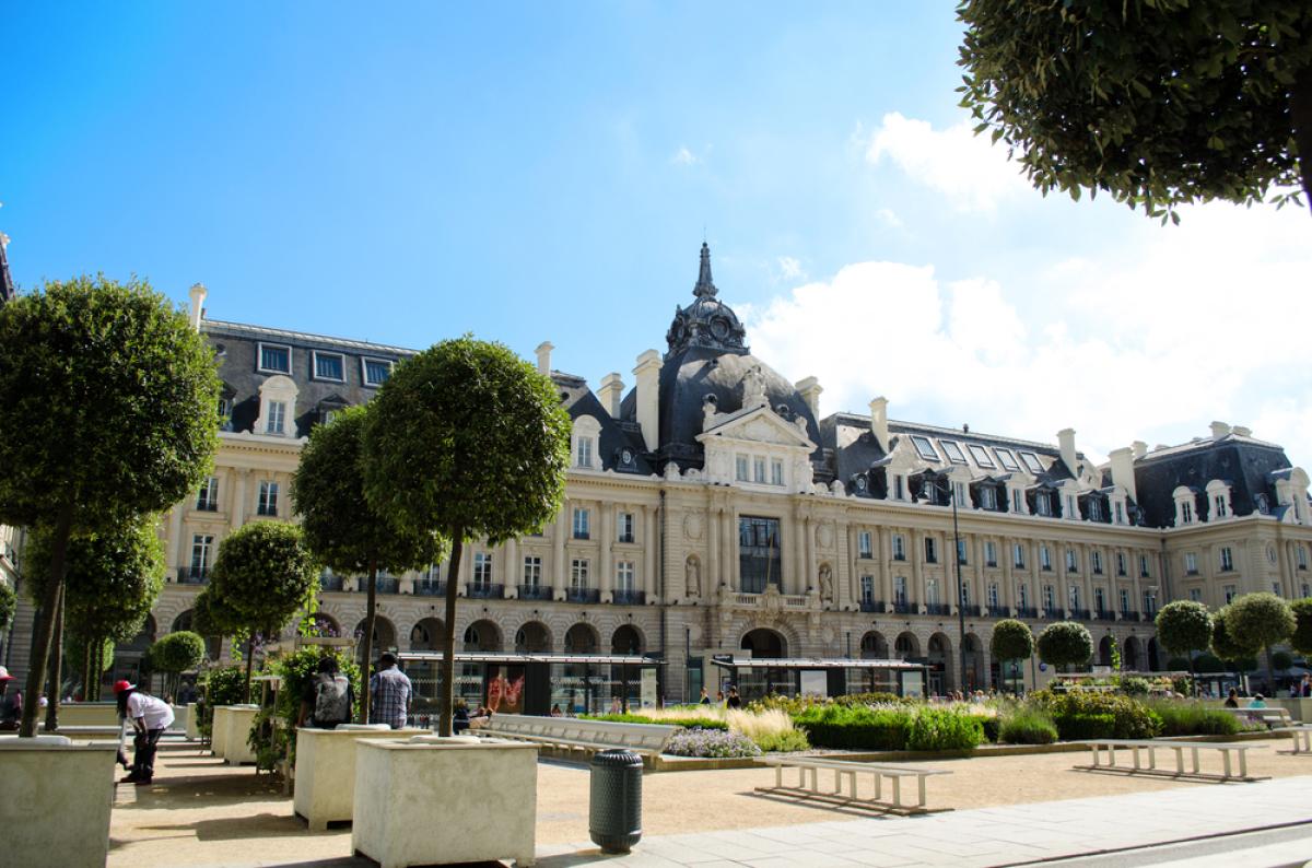 Logement à Rennes - La place de la République à Rennes
