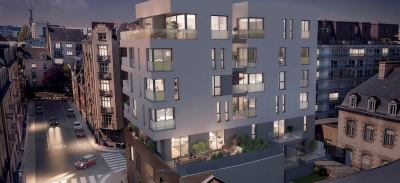 Appartements neufs Cleunay - Arsenal - Redon référence 5458