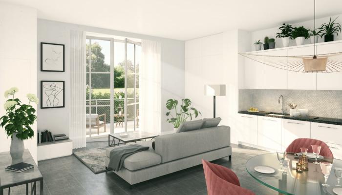 Appartements neufs Pacé référence 5462 : aperçu n°1