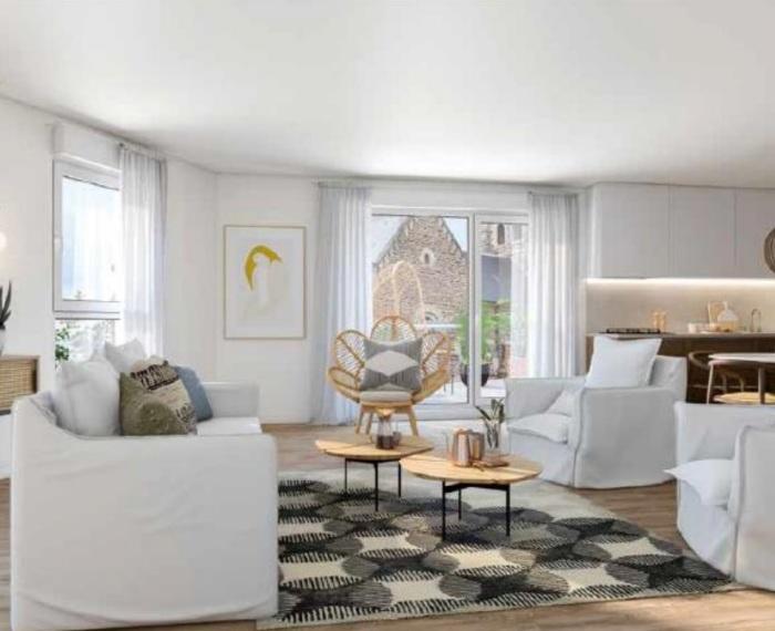 Appartements neufs Noyal-sur-Vilaine référence 5684 : aperçu n°1