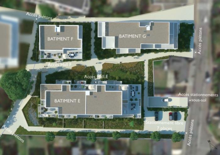Appartements neufs La Chapelle-des-Fougeretz référence 5478 : aperçu n°2