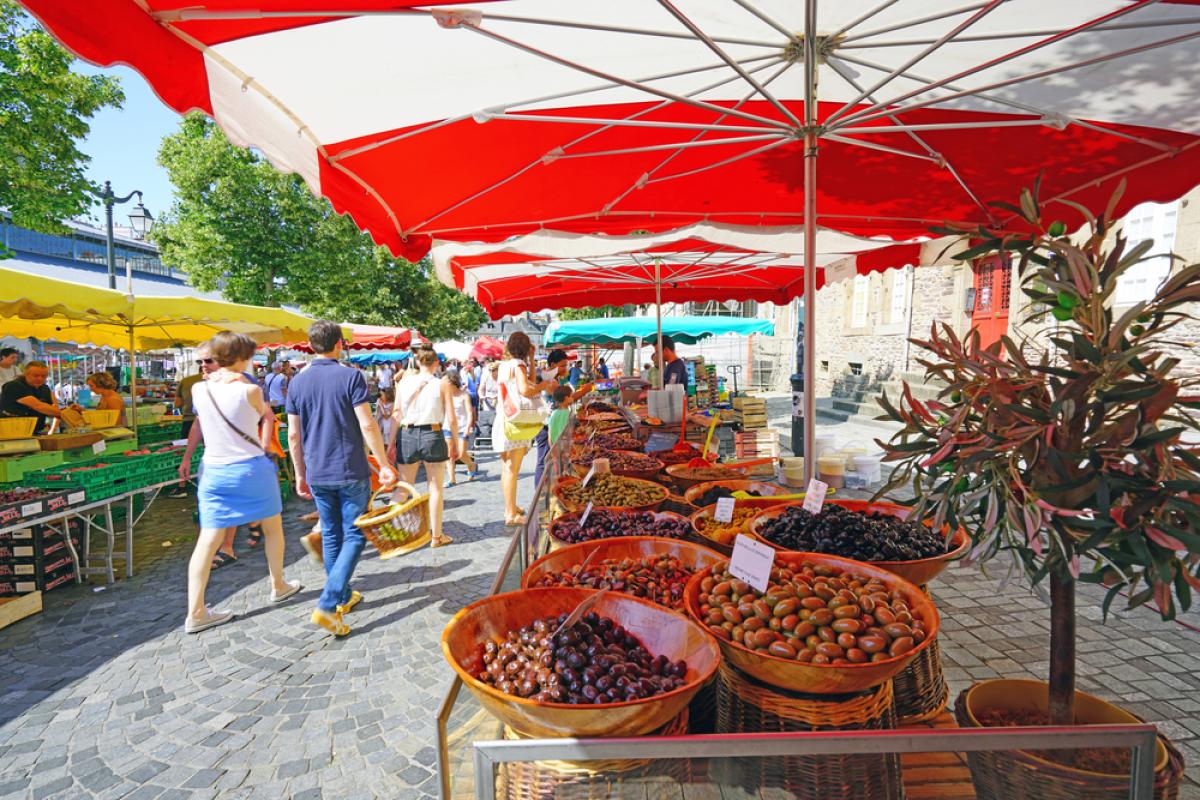 Logement à Rennes - Le marché des Lices à Rennes