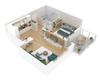 Modélisation 3D appartement neuf