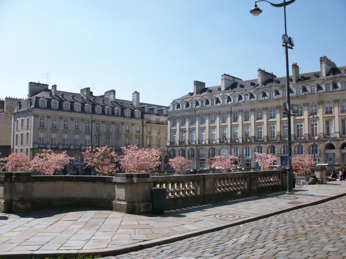 Investissement locatif Rennes - l'architecture de Rennes et ses bâtiments du centre-ville