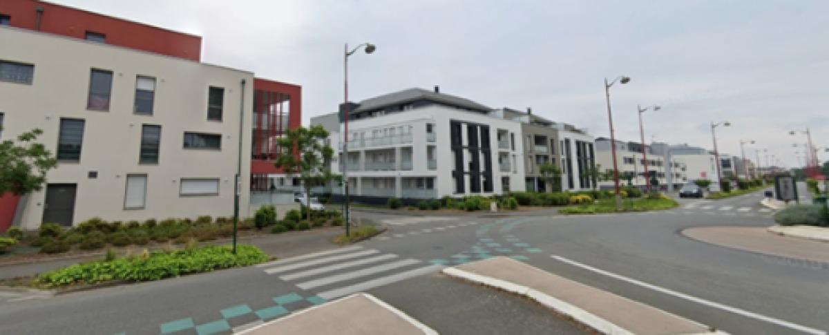 Les immeubles modernes de la rue de Rennes