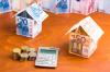 Concept d'épargne immobilier