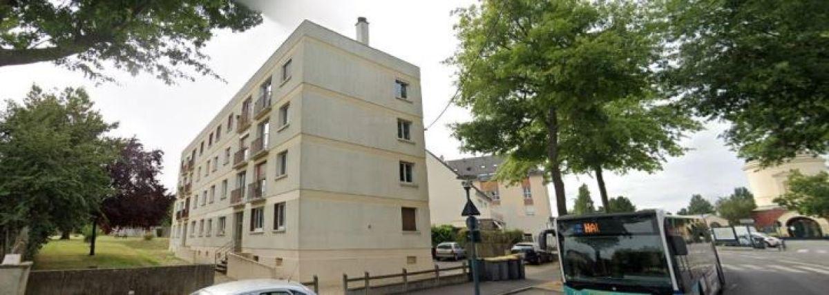 Un logement collectif dans le quartier de Saint-Martin, à Rennes