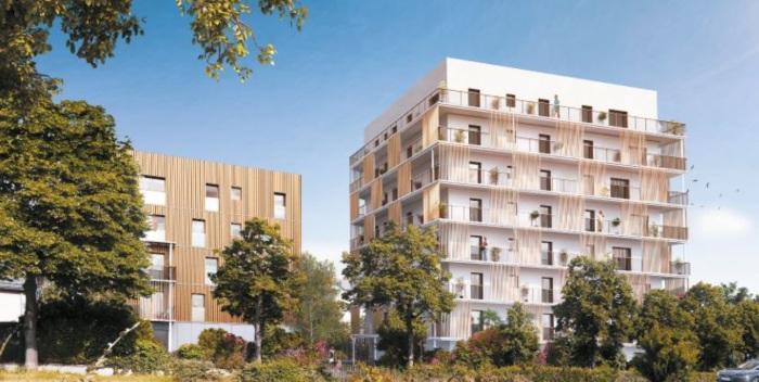 Appartements neufs Sud-Gare référence 5607 : aperçu n°0