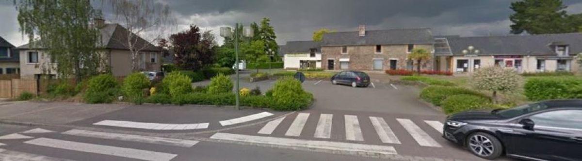 Quelques jolies maisons sur la rue de Rennes, à Vezin-le-Coquet