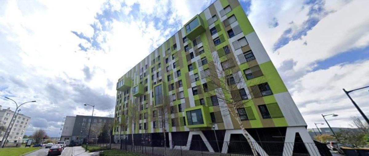 Une résidence universitaire sur l'avenue Sir Winston Churchill, à Rennes