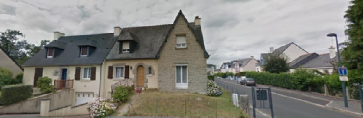 Des maisons individuelles sur la rue du Loroux, à Chantepie