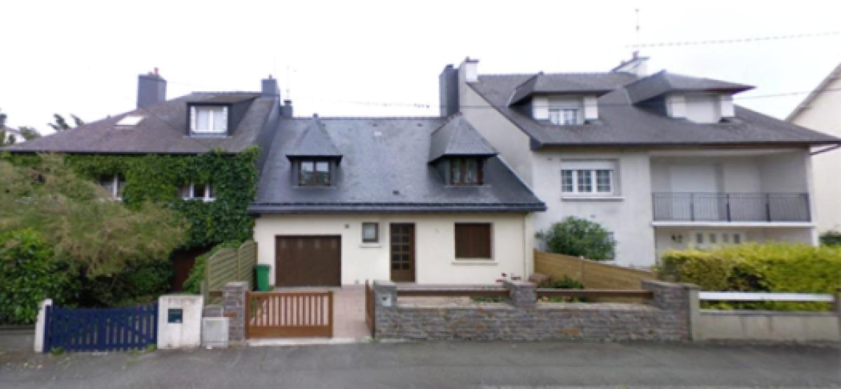 Une maison mitoyenne dans le quartier de Cleunay, à Rennes