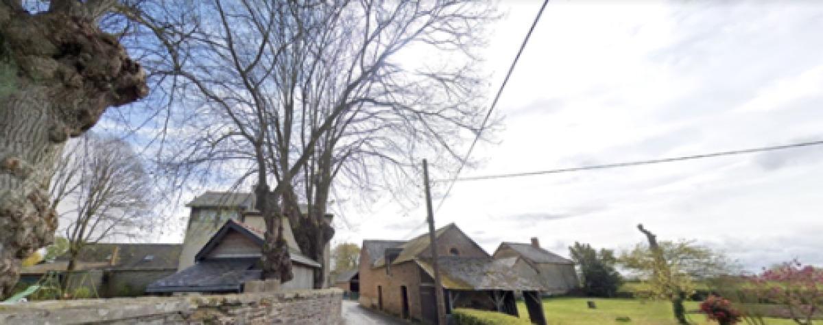 Des maisons en pleine nature dans le quartier de La Prévalaye
