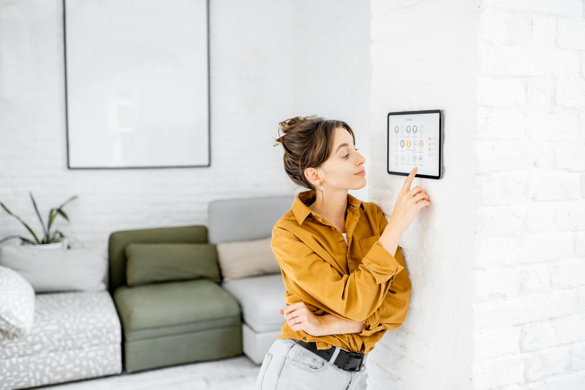 location appartement rennes - contrôle de la domotique d'un appartement