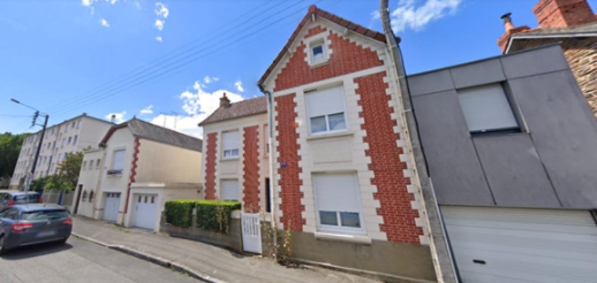Maisons de la rue Francisco Ferrer, à Rennes