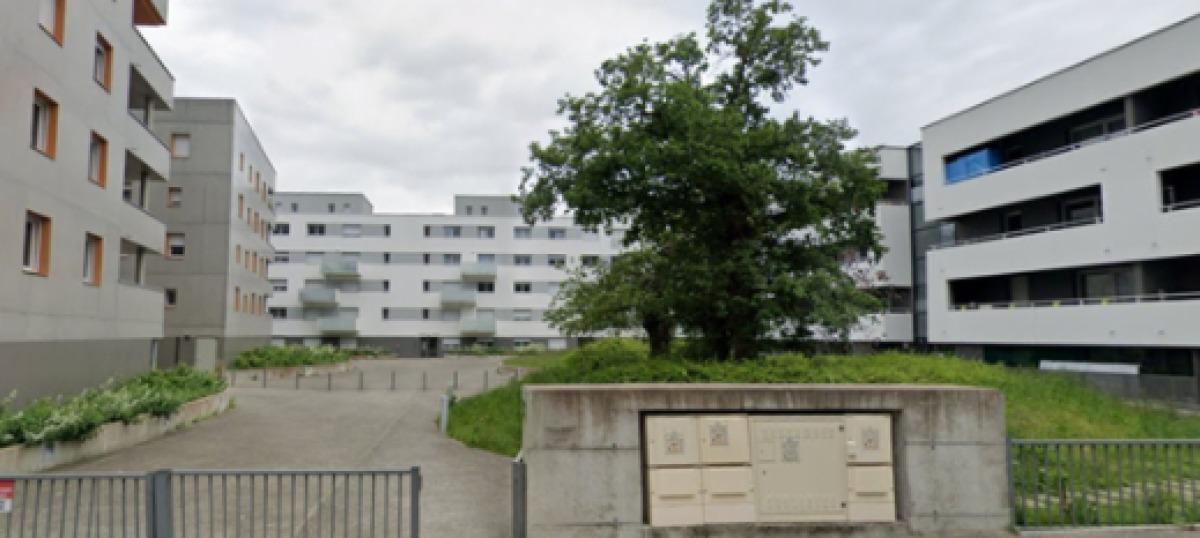 Des immeubles modernes de logements collectifs, à Rennes