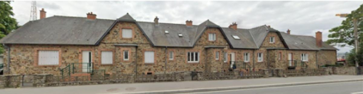 Une construction ancienne dans le quartier de Courrouze, à Saint-Jacques-de-la-Lande