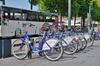 Budget de Rennes Métropole- Le réseau de transport velo STAR et un bus à Rennes