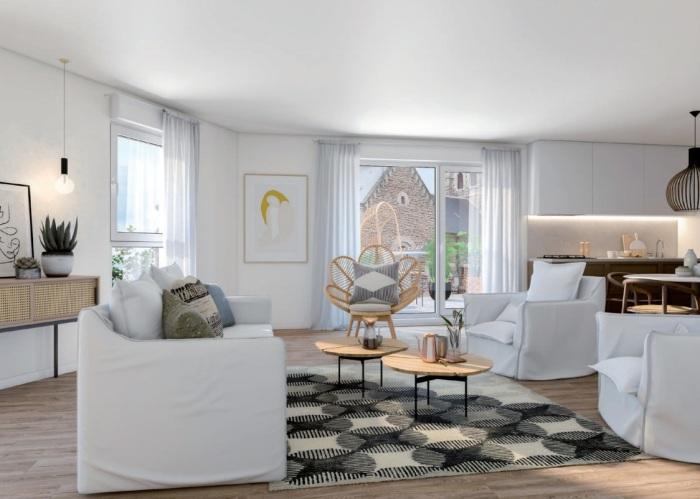 Appartements neufs Jeanne d'Arc - Longs-Champs - Atalante Beaulieu référence 5674 : aperçu n°1
