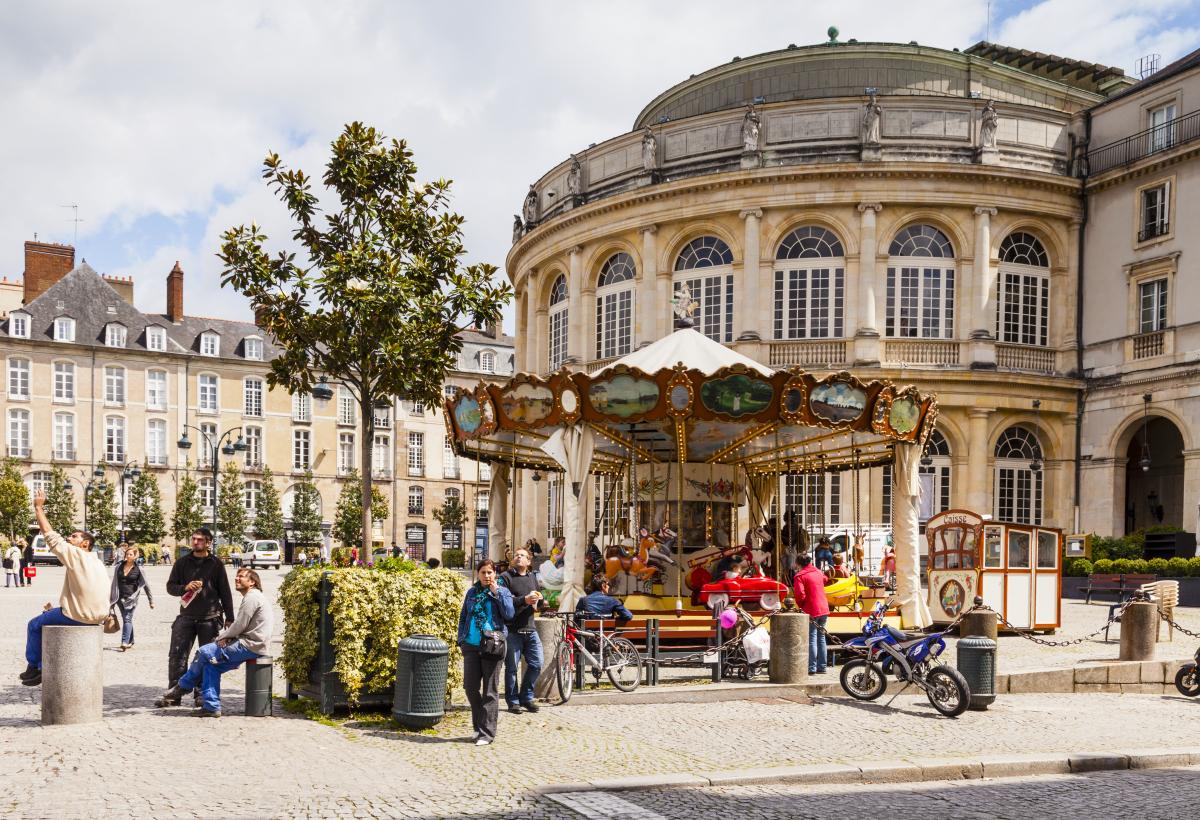Campus de Beaulieu à Rennes