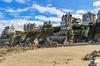 Vue de la pointe de la Malouine avec ses magnifiques demeures, à Dinard