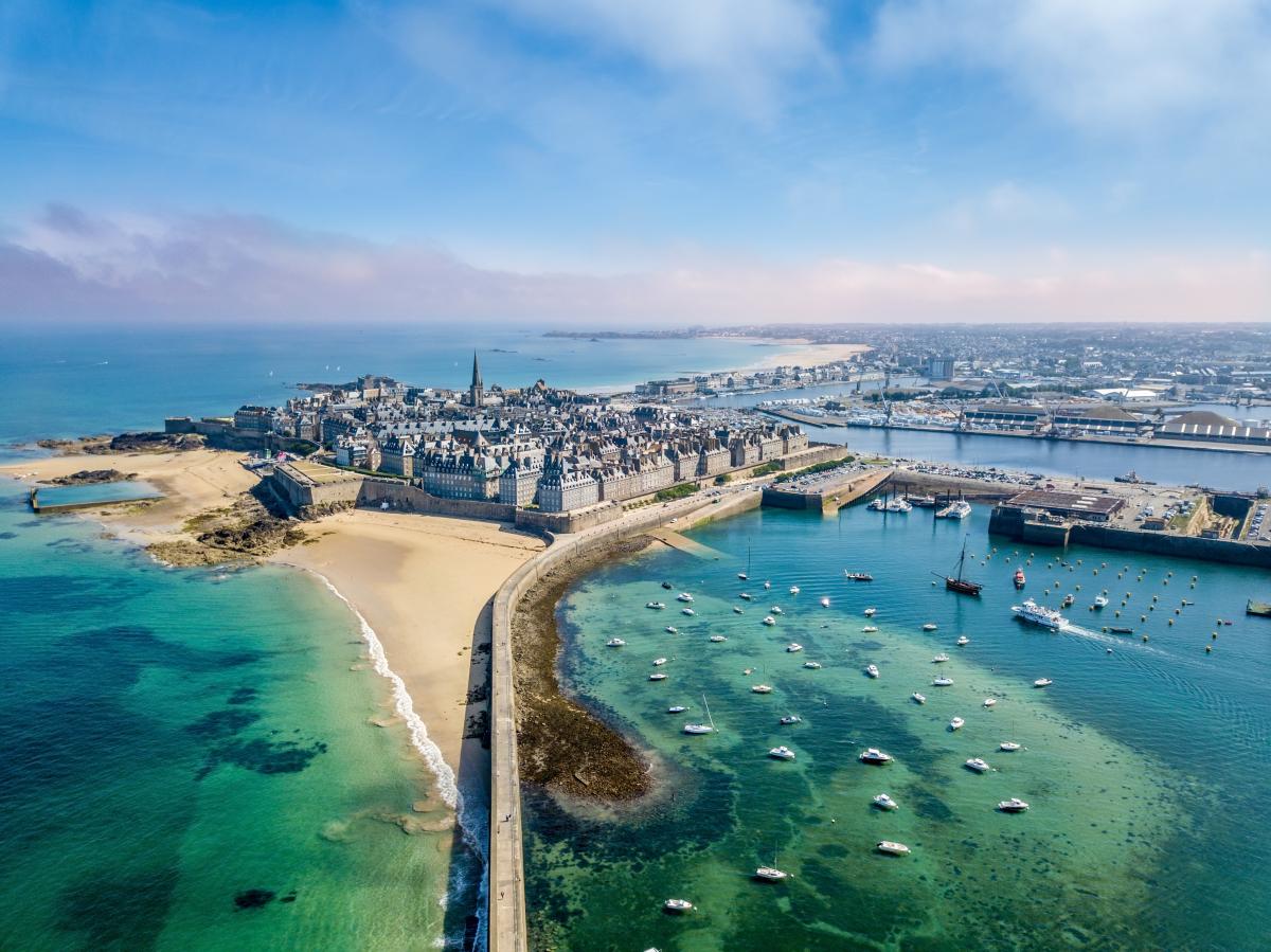 Vue panoramique de Saint-Malo