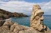 Les roches sculptées de Rothéneuf, à Saint-Malo