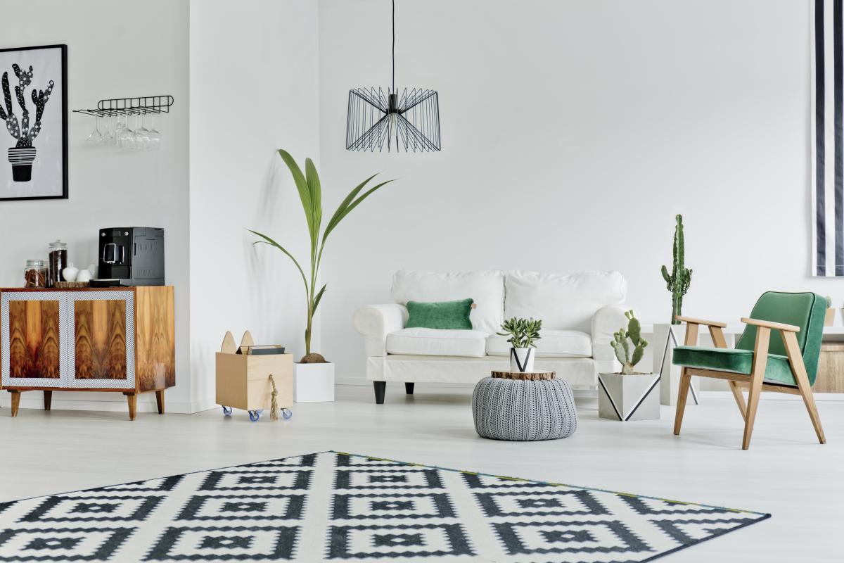 Loyers Pinel 2021 – Salon dans un appartement neuf