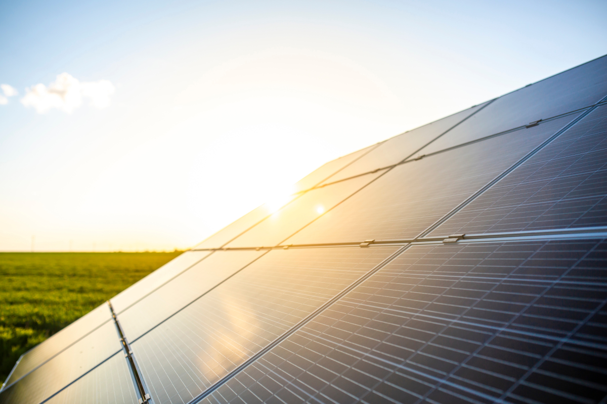 Loi Climat– Des panneaux solaires