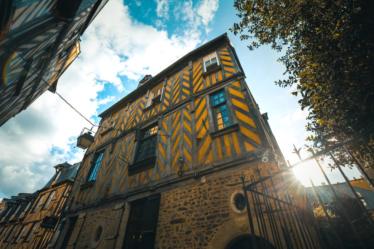 Le PTZ à Rennes - Architecture traditionnelle rennaise et colombage
