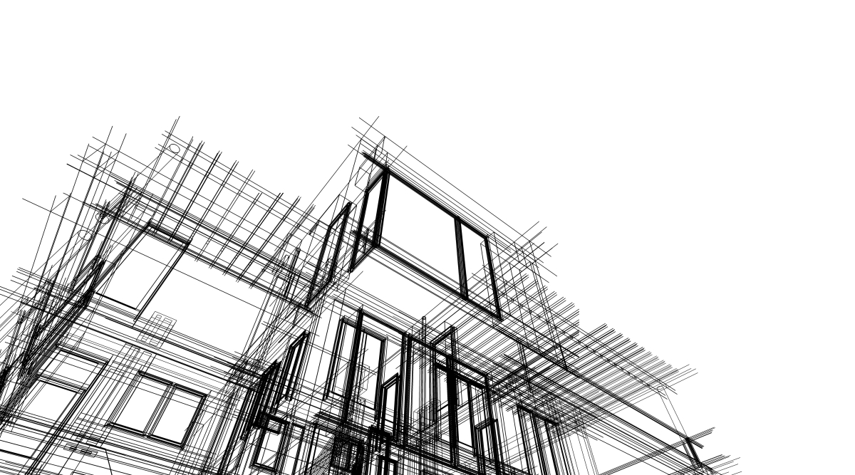 Résidence Automne à Rennes – Dessin d'architecte représentant un projet immobilier