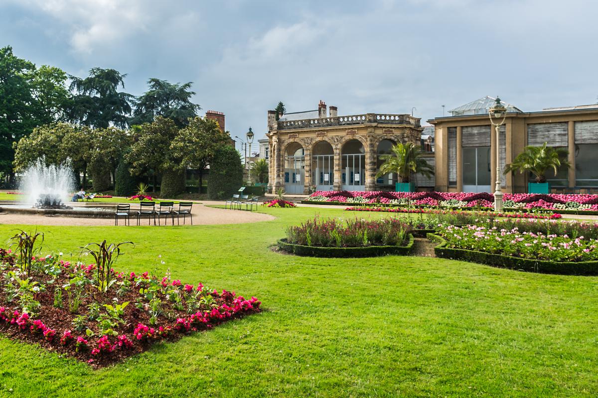 Résidence Automne à Rennes – Les jardins du parc Thabor à Rennes