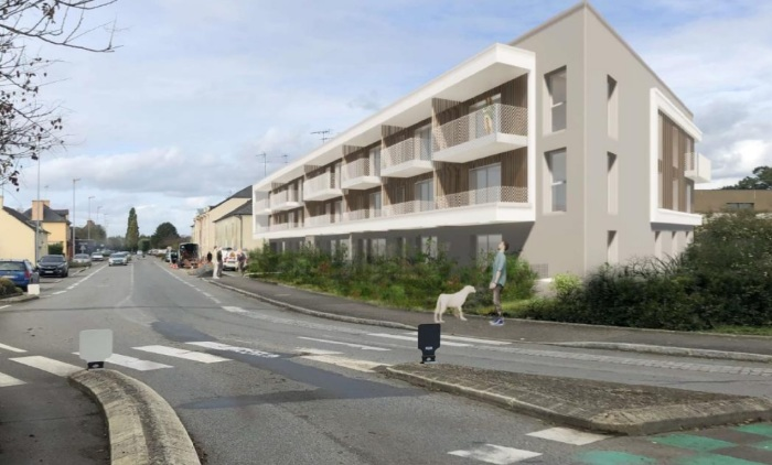 Appartements neufs Chartres-de-Bretagne référence 5699 : aperçu n°2
