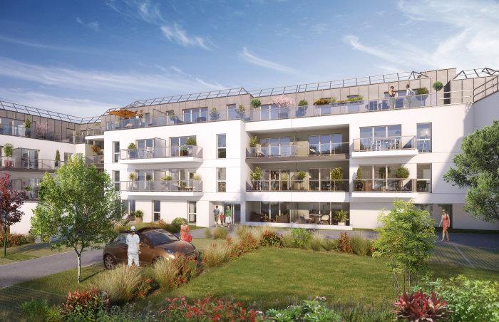 Appartements neufs Vern-sur-Seiche référence 5727 : aperçu n°0