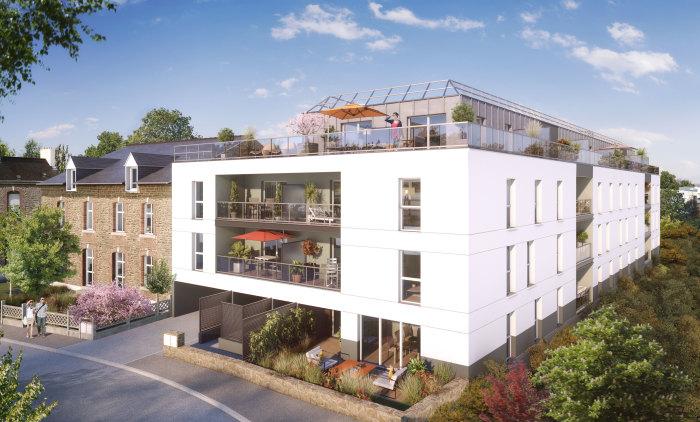 Appartements neufs Vern-sur-Seiche référence 5727 : aperçu n°2