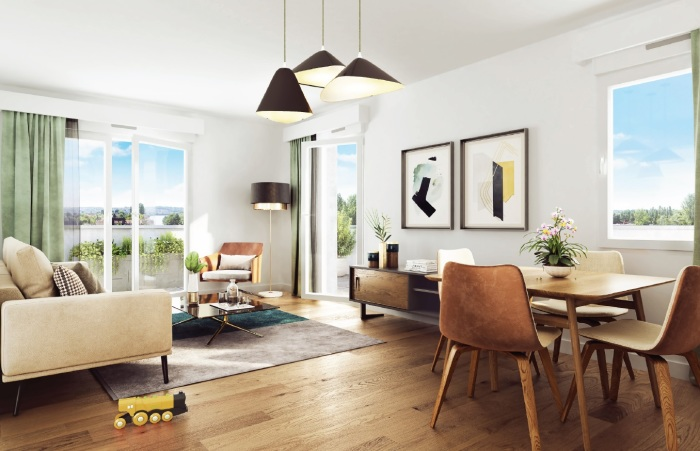 Appartements neufs Vern-sur-Seiche référence 5727 : aperçu n°1