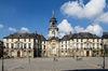 Histoire de Rennes - Bâtiment de l'hôtel de ville à Rennes
