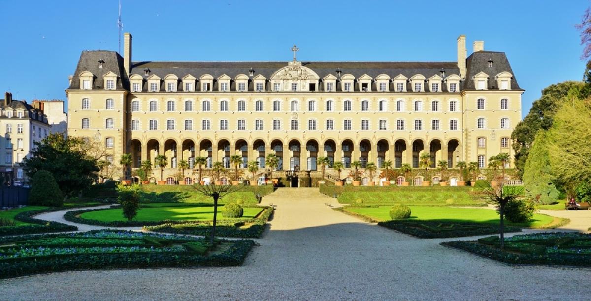 Histoire de l'architecture à Rennes - le Palais Saint-Georges à Rennes