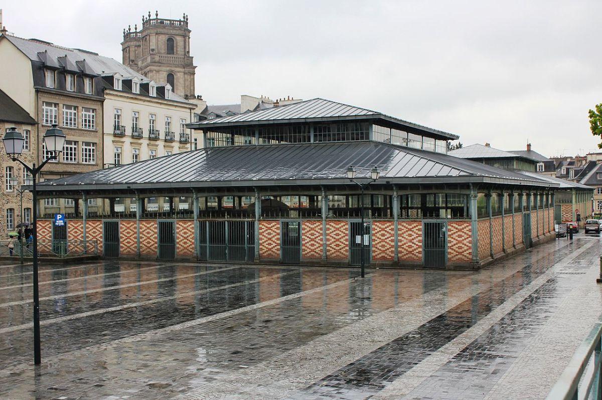 Histoire de l'architecture à Rennes - les Halles Martenot