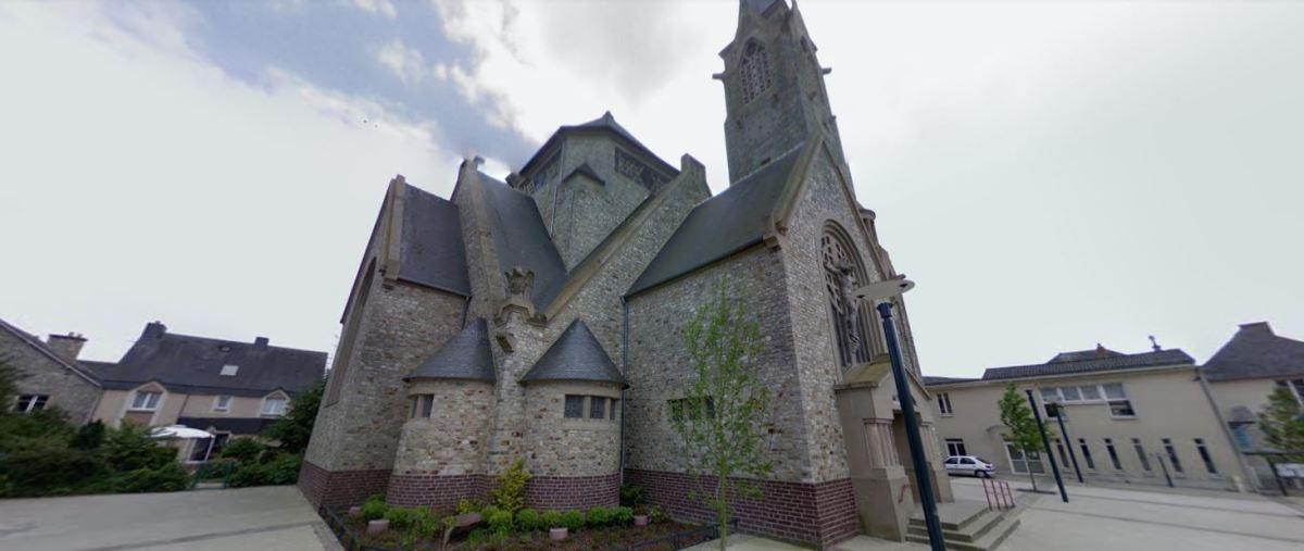 Histoire de l'architecture à Rennes - L'église Sainte Thérèse