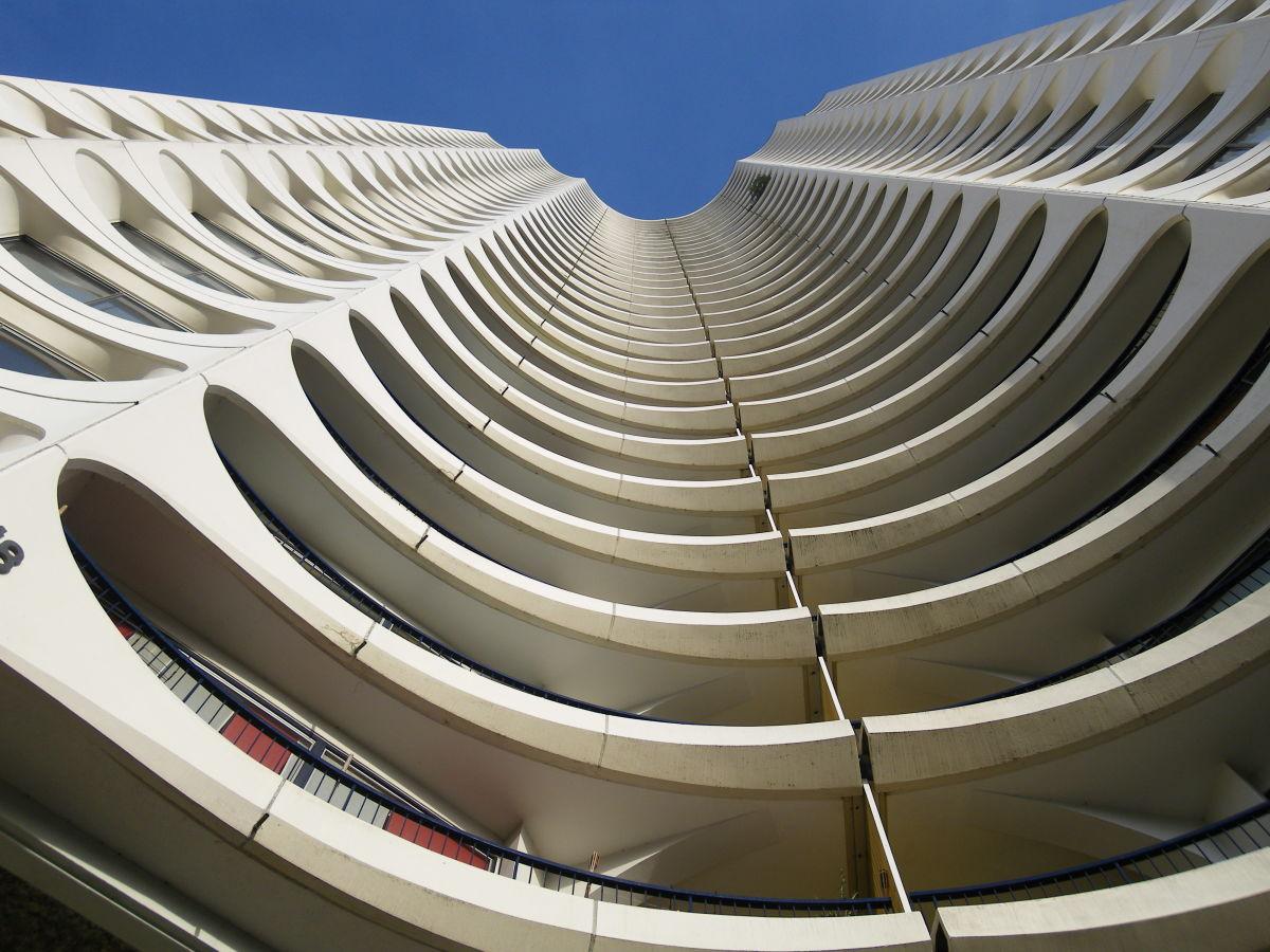 histoire de l'architecture à Rennes - immeuble de la Tour des Horizons