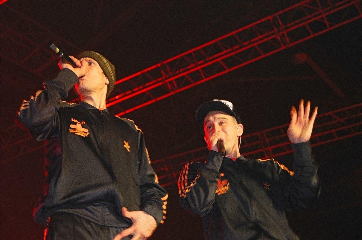La culture à Rennes - Les Beastie Boys au Trans musicales de Rennes en 2004