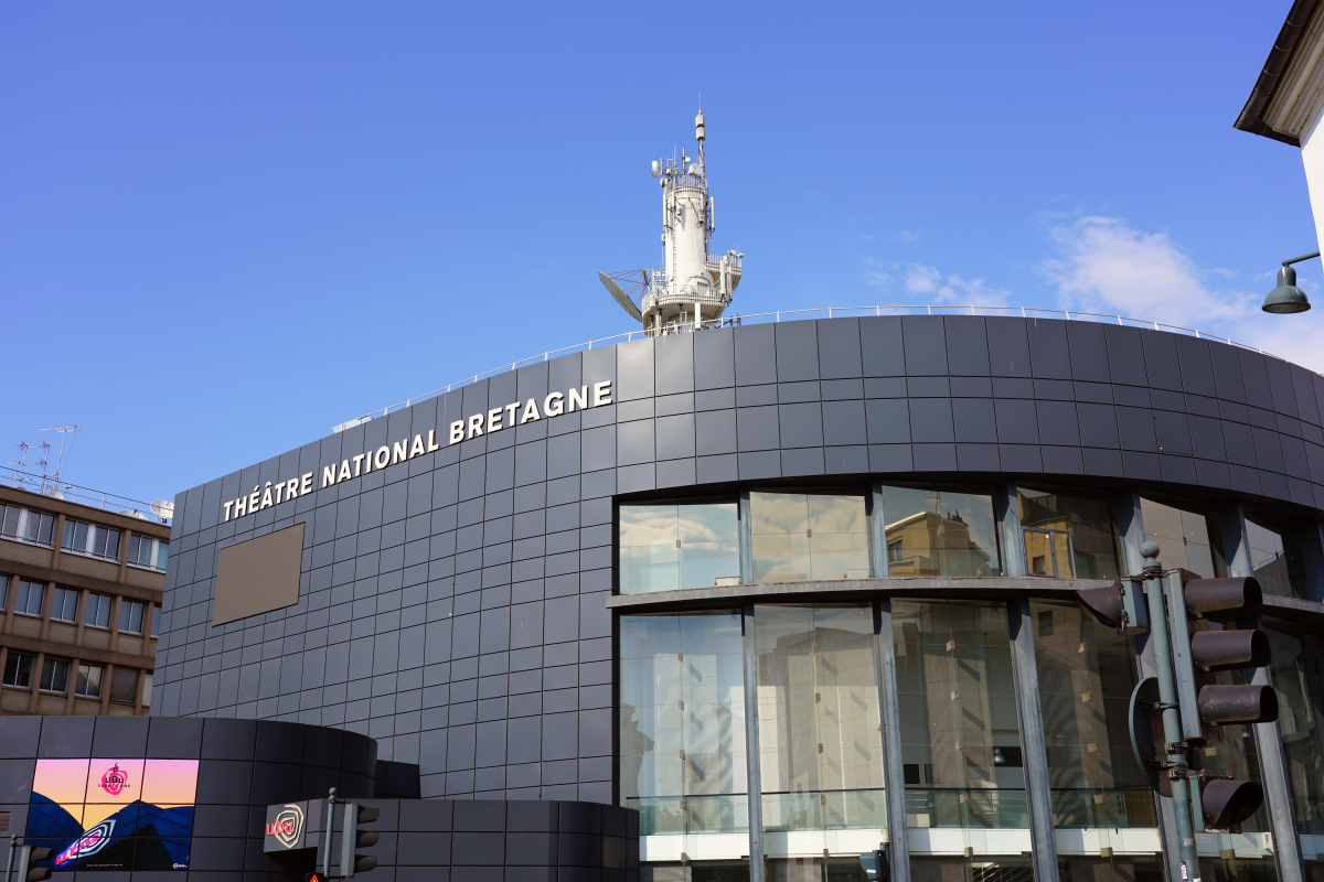 la culture à Rennes - Façade du TNB