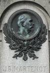 les personnalités rennaises - tombe de Jean Baptiste Martenot au cimetière Nord de Rennes